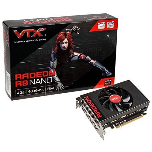 VTX3D Radeon R9 Nano, 4096 MB High Bandwidth Memory (HBM)