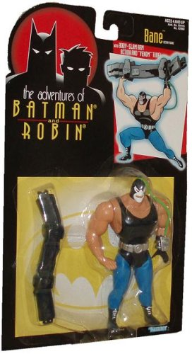 "Animated Adventures of Batman & Robin BANE 5"" Action Figure (1995 Kenner)"