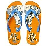 Fizik Casual Athletic & Outdoor Sandals For Men ( Orange/Aqua )