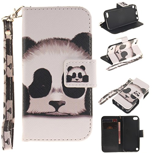 ipod-touch-5th-6th-generation-case-with-tempered-glass-screen-protectoridatogtm-magnetic-flip-book-s