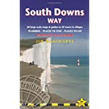 South downs way: winchester to eastbourne: 60 large-scale maps & guides to 49 towns and villages; planning, places...