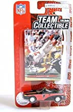 Atlanta Falcons 2003 NFL Diecast Ford Mustang Convertible Car with Michael Vick Fleer Ultra Card by