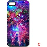 K9D Space Galaxy Nebula Patterned Hard Case Cover Back Skin Protector For iPhone 4 4S Style C & With a Nice Gift