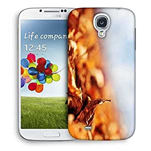 Snoogg Leaf About To Fall Designer Protective Phone Back Case Cover For Samsung Galaxy S4