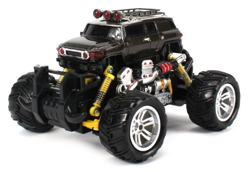 Toyota FJ Cruiser Electric RC Off-Road Monster Truck 1:18 Scale 4 Wheel Drive RTR, Working Hinged Sp