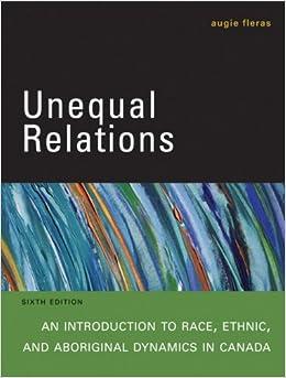 Ethnic relations in canada