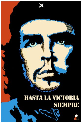 11x-14-Poster-Che-Guevara-hasta-la-victoria-siempre-Cuban-Political-Poster-Decor-with-Unusual-images-Great-Cuban-Room-art-Decoration