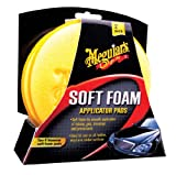 "Meguiars X3070 4"" Soft Foam Applicator Pads, (Pack of 2)"