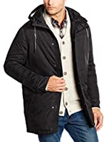 TOM TAILOR Denim Chaqueta (Negro)