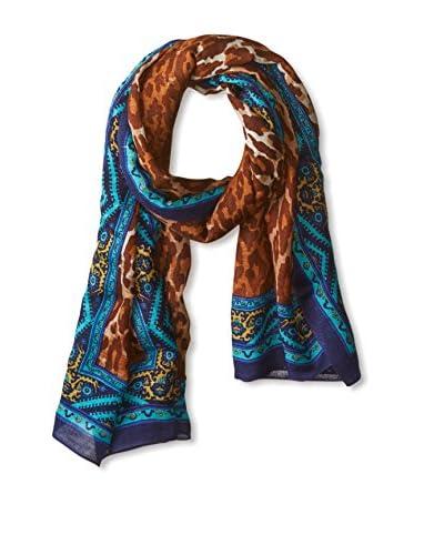 Theodora & Callum Women's Kathmandu Tie-All Scarf/Pareo, Blue