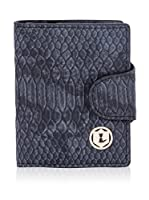 Lancaster Cartera Phyton Cards Holder (Negro)