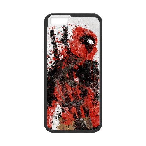 Amazing iphone 6 Case Cover deadpool art of deadpool Pattern Tough iphone 6 Hard Back Protector mlb nfl nhl High Quality PC Case Minnesota Wild nd01781 for iPhone 6 Case