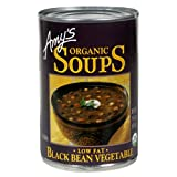 Amy's Organic Black Bean Vegetable Soup, 14.5-Ounce Cans (Pack of 12) ~ Amy's Organic