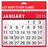 2015 Easy View Month to view Planner/Calendar
