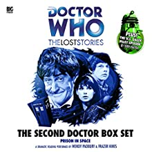 The Second Doctor Box Set: Doctor Who: The Lost Stories Radio/TV Program by Dick Sharples, Simon Guerrier, Terry Nation, Nicholas Briggs, John Dorney Narrated by Nicholas Briggs, Frazer Hines, Wendy Padbury, Jean Marsh