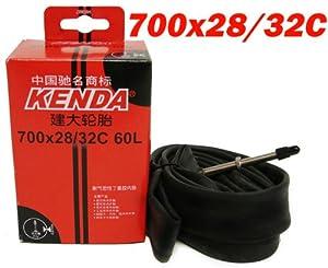 Road Bicycle Hybrid Bike Tire Inner Kenda Tube F/v Presta Valve 700x28-32c 60mm