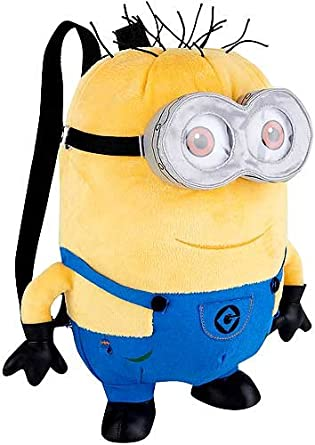 Despicable Me 2 Plush 13 Inch Backpack Jerry