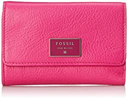 Fossil Dawson Multifunction Wallet, Hot Pink, One Size