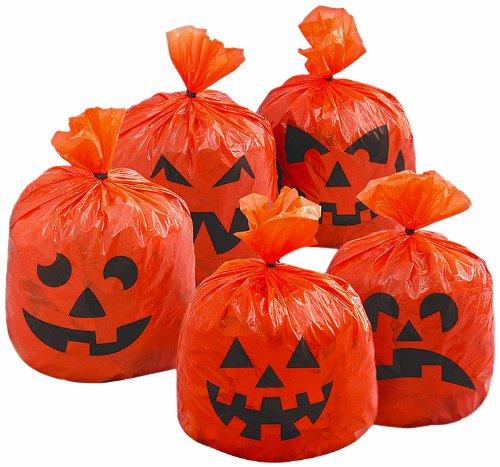 Hanging Pumpkin Leaf Bags, 20ct - 1