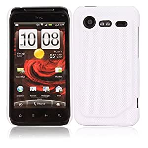 Concave Dots Hard Case for HTC Incredible S G11 White