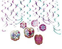 American Greetings Frozen Hanging Party Decorations, Party Supplies by American Greetings