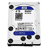 WD Blue 4TB  Desktop Hard Disk Drive - 5400 RPM SATA 6 Gb/s 64MB Cache 3.5 Inch  - WD40EZRZ