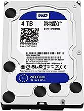 Comprar WD Blue - Disco duro para ordenadores de sobremesa de 4 TB (5400 rpm, SATA a 6 Gb/s, 64 MB de caché, 3,5