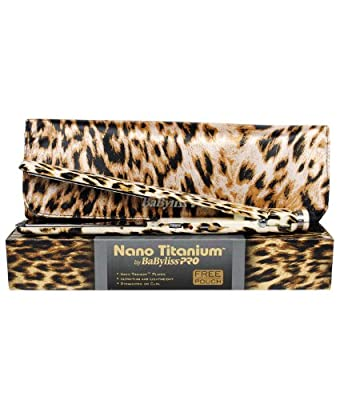Best Cheap Deal for BaByliss Pro Nano Titanium 1 Inch Flat Iron Leopard from Babyliss Pro - Free 2 Day Shipping Available