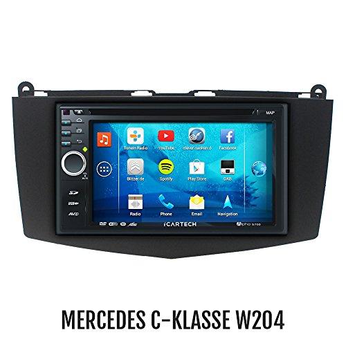 ?Alpha S700 für MERCEDES C-KLASSE W204? Das bärenstarke Android Radio mit GPS?Bluetooth?WiFi?Multi-Touch Display?3G?Navigation? Vorbereitung für: TV (DVB-T) & Digitales Radio (DAB+), Dash-Cam (DVR), - Apps-Erweiterung wie z.B. Radar-Warner, Billiger tanken, Spotify u.v.m, inklusive Wifi Mirroring: iPhone 4,5,5 c s Display Spiegelung, Navigationssystem, Autoradio