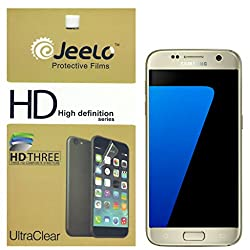 Jeelo HD Clear Screen Guard for Samsung Galaxy S7 - Pack of 2