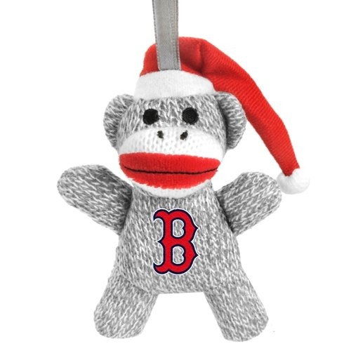 MLB Boston Red Sox 2013 Sock Monkey Ornament, Red at 'Sock Monkeys'