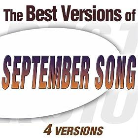 September Song (Frank Sinatra Version)