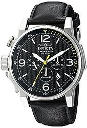 Invicta Men's 20129SYB I-Force Analog Display Quartz Black Watch