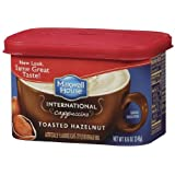 Maxwell House International Cafe Style Beverage Mix, Toasted Hazelnut Cappuccino 8.6 oz