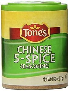Tone's Mini's Oriental 5 Spice, 0.60-Ounce