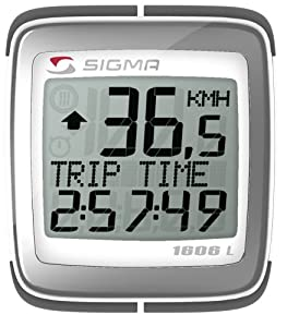 SIGMA BC1606L 16-Function Topline Wired Bicycle Speedometer