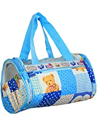 Kuber Industries™ Mama's Bag, Baby Carrier Bag, Diaper Bag, Travelling Bag, Small Hand Bag (Sky Blue) - KUB398