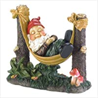 Gifts & Decor Slumbering Gnome Garden Statue from Furniture Creations - LG
