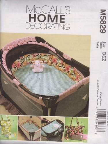 Mccall'S Patterns M5829 Baby Items, One Size Only