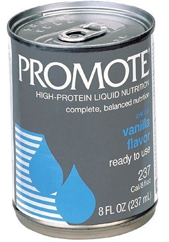 Promote High-Protein Liquid Nutrition, Ready To Use, Vanilla, Pack Of 3, 8 Oz. Cans