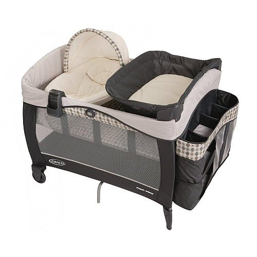 Graco Pack N Play With Newborn Napper Elite Play Yard Vance front-985471