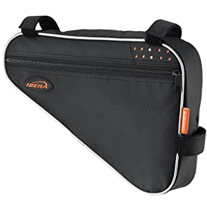 Amazon.com : Ibera Bicycle Triangle Frame Bag : Sports & Outdoors