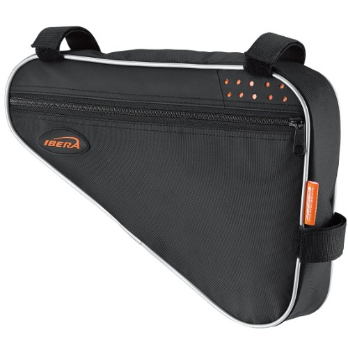 Why Should You Buy Ibera Bicycle Triangle Frame Bag (Medium)