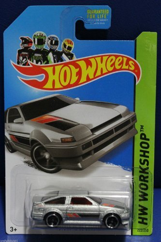 Hot Wheels Workshop 222/250 - Toyota Corolla AE-86 - Silver - 1