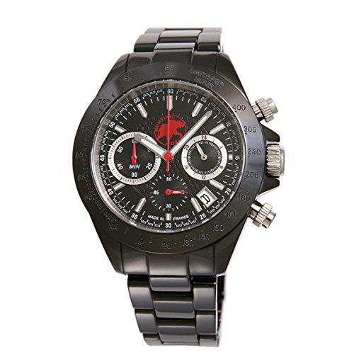 HUNTING WORLD ハンティングワールド 腕時計 メンズ エレガント・エレファント ブラック HW408SBK