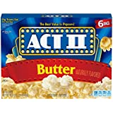 Act II Popcorn Butter, 6 Count (Pack of 6)