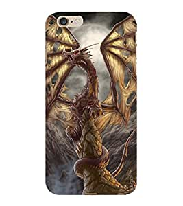 ColourCraft Dragon Design Back Case Cover for APPLE IPHONE 6S PLUS