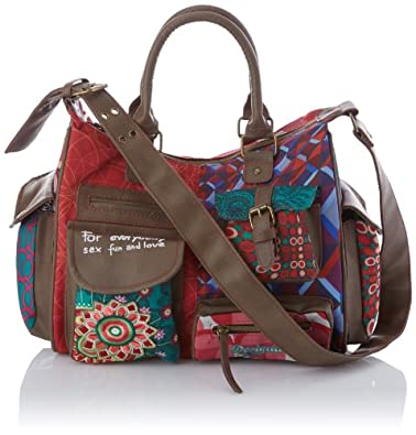 Desigual Womens Bols London-Annelise 3014 U Messenger Bag 41X50203014U Rot/Scarlet One Size
