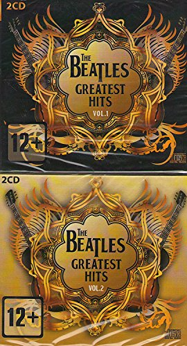 The Beatles - The Beatles Greatest Hits Vol.1 & Vol.2 Digipack 4 Cd Set Rock Paul Mccartney Digipak - Zortam Music