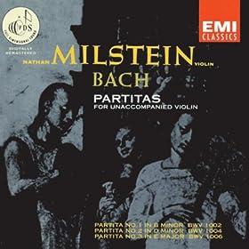 Bach Partitas 1-3